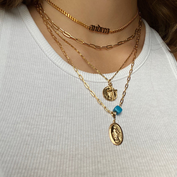 The Virgin Mary Necklace