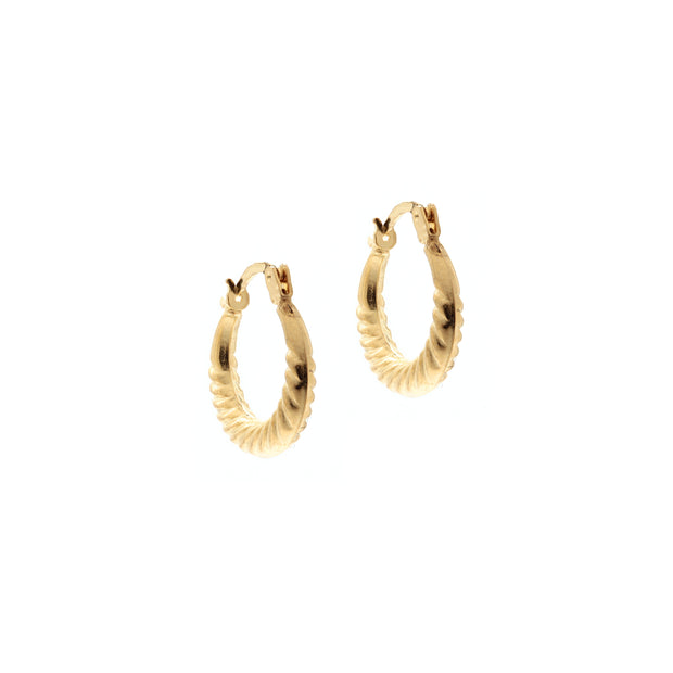 The Full Croissant Earrings