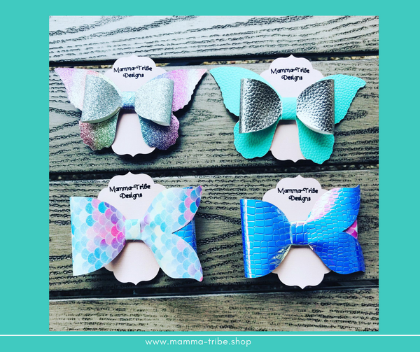 Mermaid and Butterfly Bows