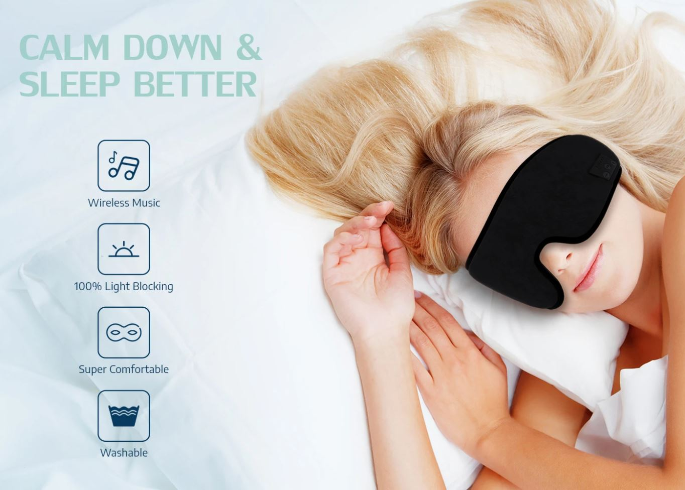 Deep Sleep Pro - Music Eye Mask