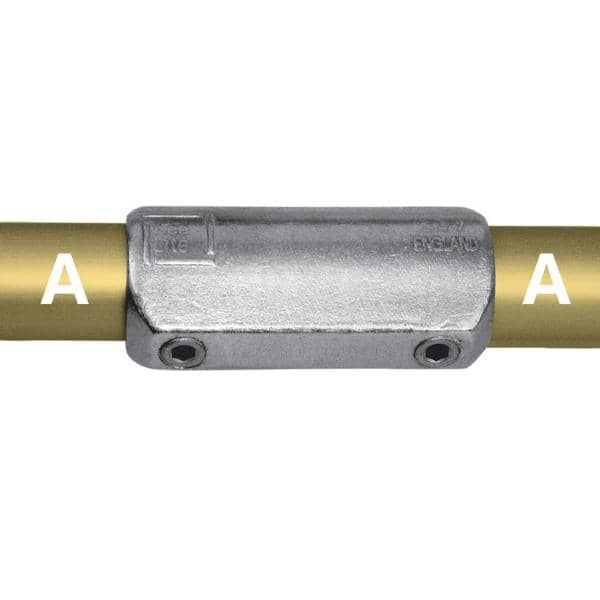 Aluminum Fitting Type L14 - Straight Coupling