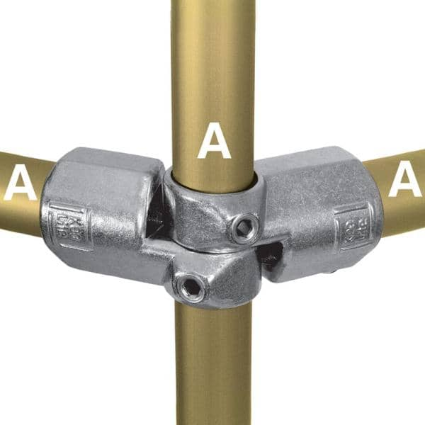 Aluminum Fitting Type L19 - Adjustable Side Outlet Tee