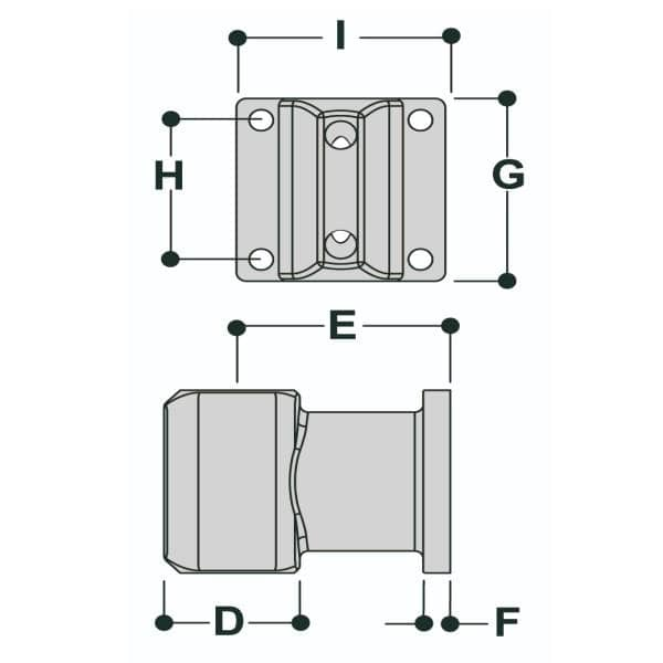 L164 - Offset Wall Flange