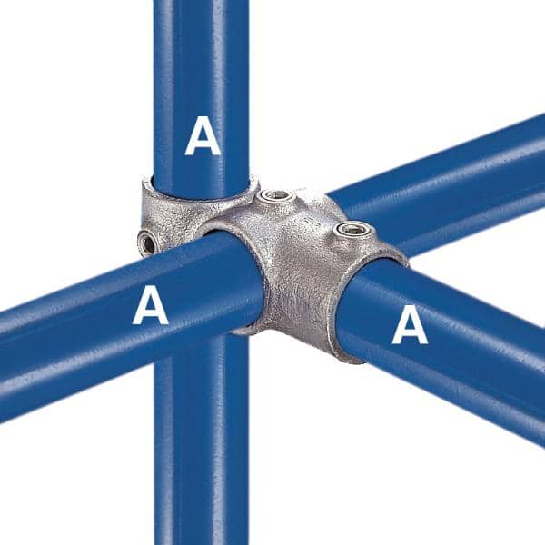 Galvanized Fitting Type 46 - Combination Socket Tee and Crossover