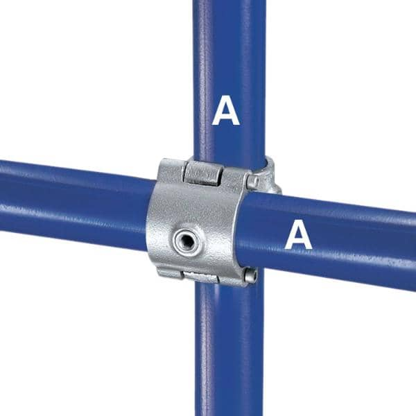Galvanized Fitting Type A45 - Split Crossover