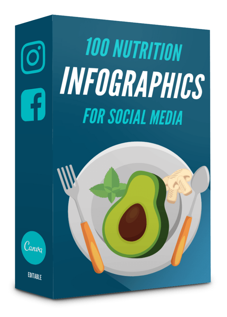 100 Nutrition Infographics - 90% OFF
