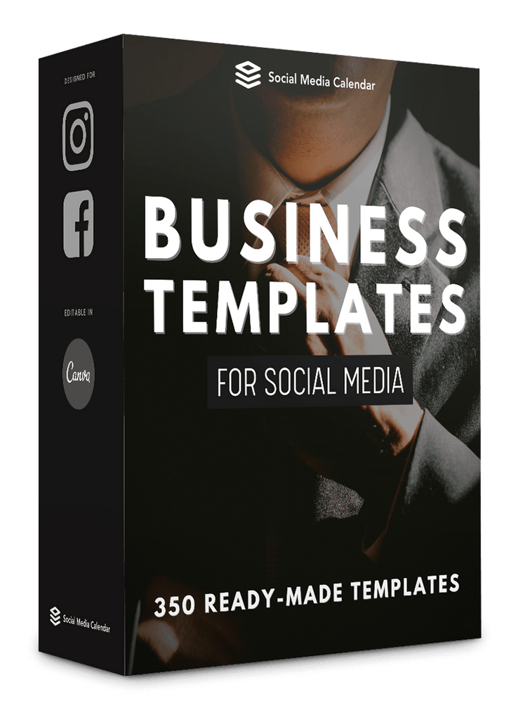 350 Business Templates for Social Media - 90% OFF