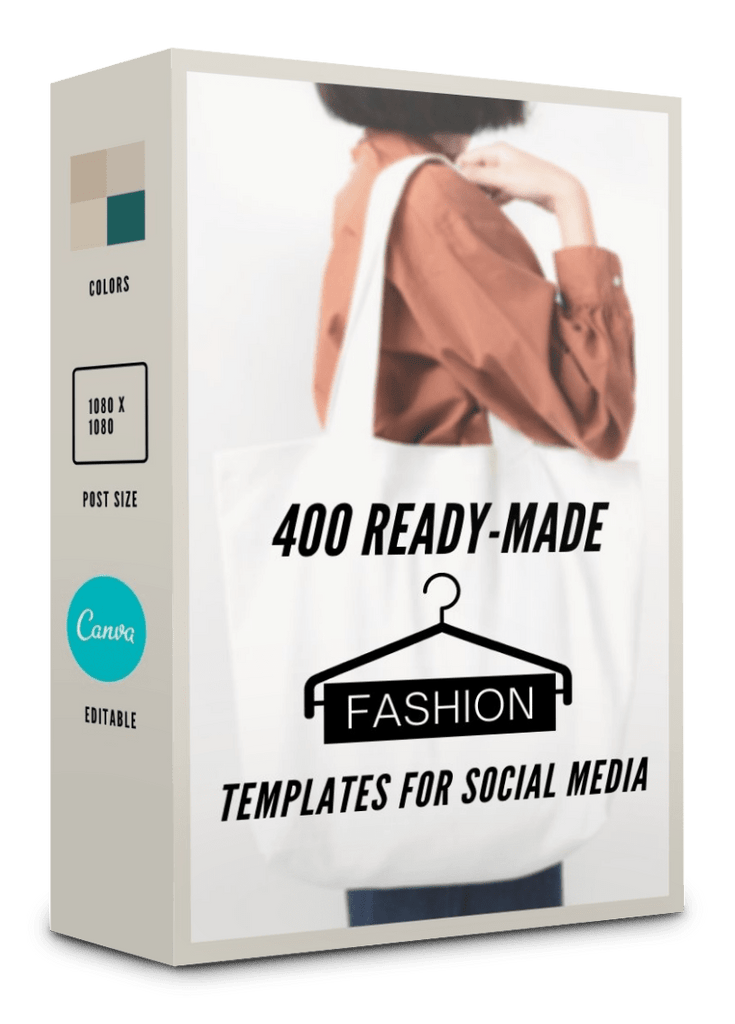 400 Fashion Templates For Social Media - 85% OFF