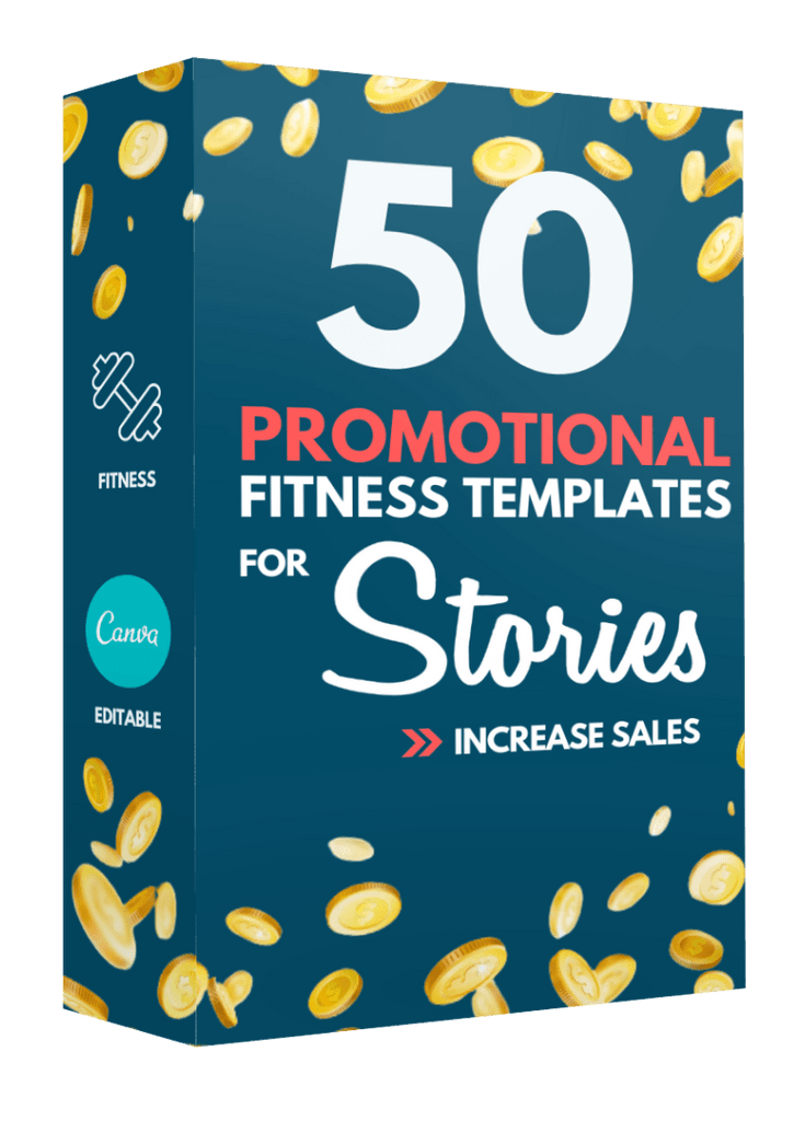 50 Sales + Promotional Fitness Templates For Stories