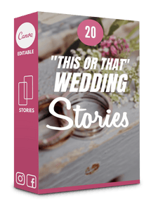 20 Wedding Templates for Instagram Stories