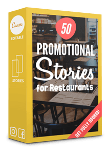 50 Promotion + Sales Stories for Restaurants