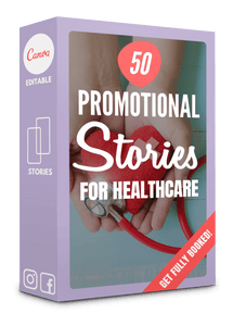 50 Promotional + Sales Stories for Healthcare