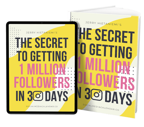 Secrets To Getting One Million Followers In 30 Days
