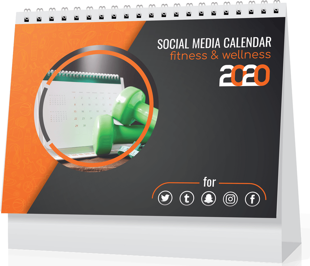 366 Social Media Calendar for Fitness Influencers