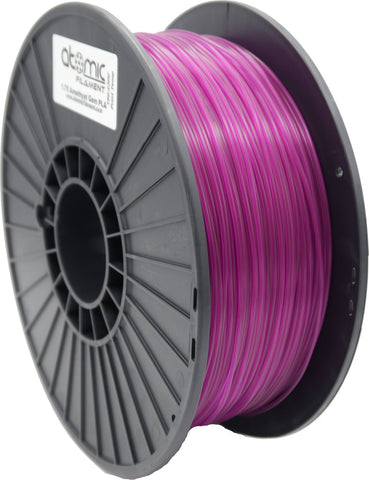 1.75mm Amethyst Violet Gemstone Translucent PLA Atomic Filament 1kg Spool