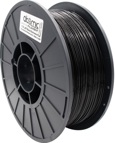 1.75 mm Extreme Jet Black PLA Atomic Filament 1kg Spool