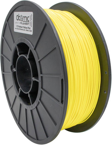 1.75 mm Perfect Yellow PLA Atomic Filament 1kg Spool