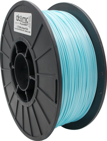 1.75mm Silky Aqua PLA Atomic Filament 1kg Spool