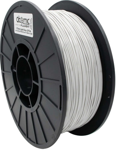 1.75 mm Light Gray Opaque PLA Atomic Filament 1kg Spool
