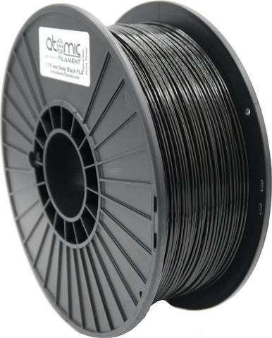 1.75mm Black Atomic Filament PLA 1kg Spool-Filament-SeeMeCNC