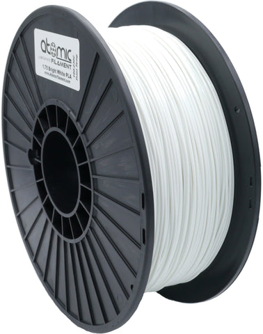 1.75mm Bright White Opaque Atomic Filament PETG 1kg Spool-Filament-SeeMeCNC