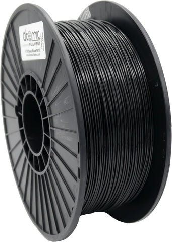 1.75mm Deep Black Opaque Atomic Filament PETG 1kg Spool-Filament-SeeMeCNC