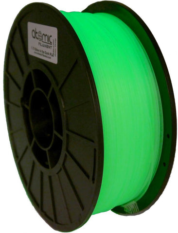 1.75mm Glow In The Dark Atomic Filament PLA 1kg Spool-Filament-SeeMeCNC
