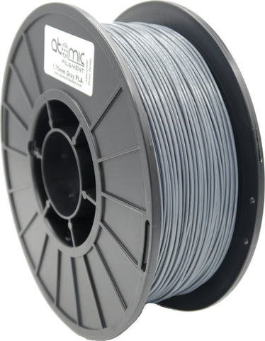 1.75mm Gray PLA 1kg Spool-Filament-SeeMeCNC