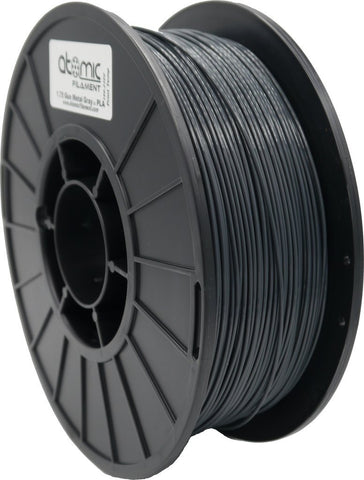 1.75mm Gun Metal Gray Atomic Filament PLA 1kg Spool-Filament-SeeMeCNC