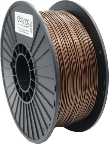 1.75mm Metallic Bronze PLA 1kg Spool-Filament-SeeMeCNC