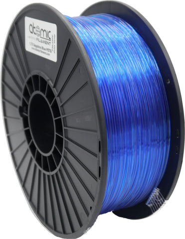 1.75mm Sapphire Blue Translucent Atomic Filament PLA 1kg Spool-Filament-SeeMeCNC