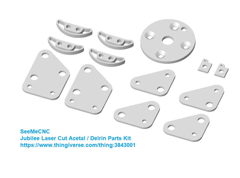 Jubilee Laser-Cut Acetal Parts Kit