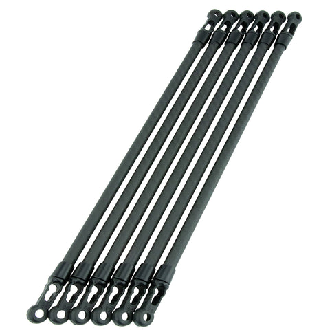 Carbon Fiber Arms Twill 340.5mm Set of Six