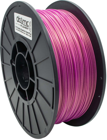 1.75 mm Golden Violet Sparkle Translucent PLA Atomic Filament 1kg Spool