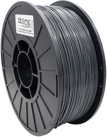 1.75mm Gun Metal Gray ABS Atomic Filament 1kg Spool