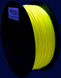 1.75 mm Neon Yellow UV Reactive PLA Atomic Filament 1kg Spool