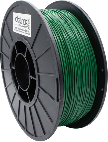 1.75 mm Pine Green V2 PLA Atomic Filament 1kg Spool