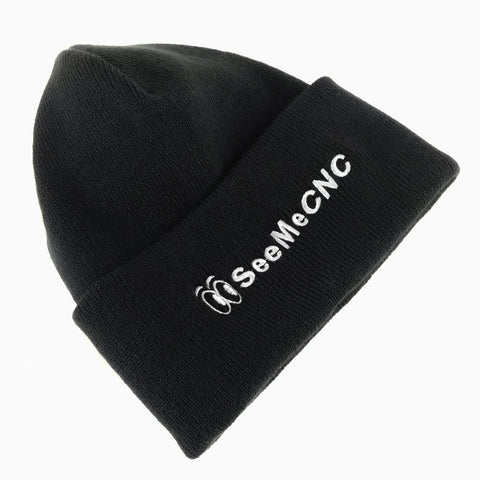 Knit SeeMeCNC Cap Black-Silver