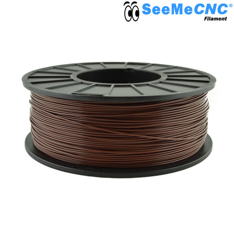 1.75 mm Teddy Bear Brown PLA 3D Printer Filament 1kg