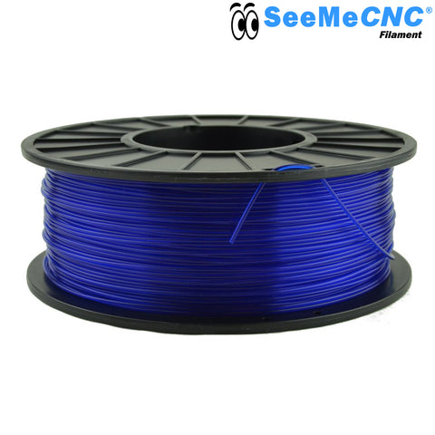 1.75 mm Translucent Blue PLA 3D Printer Filament 1kg