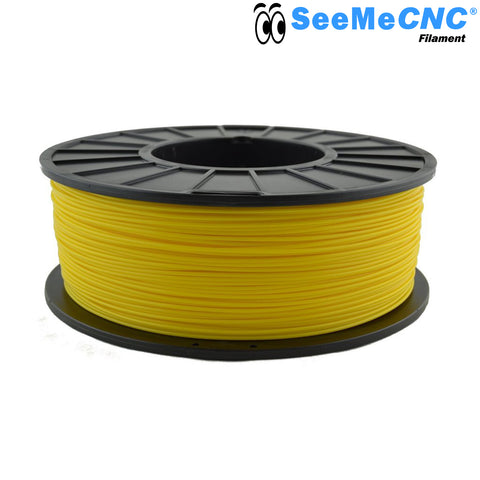1.75 mm Yellow Banana PLA 3D Printer Filament 1kg