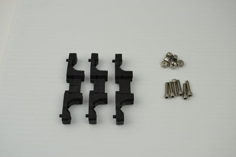 Carriage Base U Joint Mounts (3 pack)-parts-SeeMeCNC