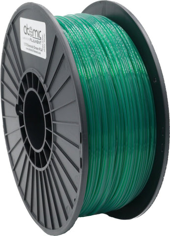 1.75mm Emerald Green Translucent Atomic Filament PETG 1kg Spool