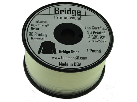 Taulman 1.75mm BRIDGE Filament 1# spool-Filament-SeeMeCNC
