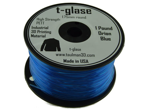 Taulman 1.75mm ORION BLUE T-Glase Filament 1# spool-Filament-SeeMeCNC