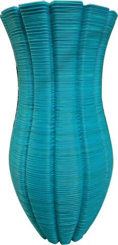 "Vase Blue Colors 27"" Tall-SeeMeCNC"