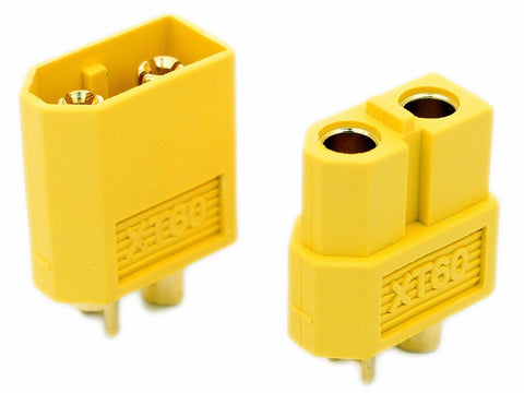 XT60 Connector Pair - Male/Female Yellow-seemefpv-SeeMeCNC