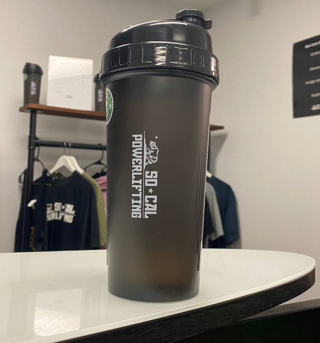 SoCal Powerlifting Shaker Cup