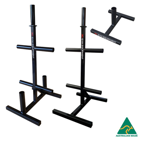 weights plate storage and accessories