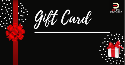 3D Gym Equipment Gift Cards